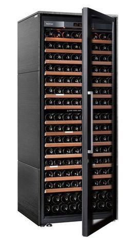 Винный шкаф EuroCave S Collection L чёрный, максимальная комплектация