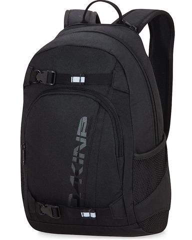 Картинка рюкзак для скейтборда Dakine grom 13l Black - 1