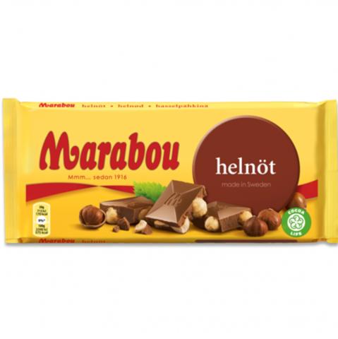Marabou helnot 200 гр