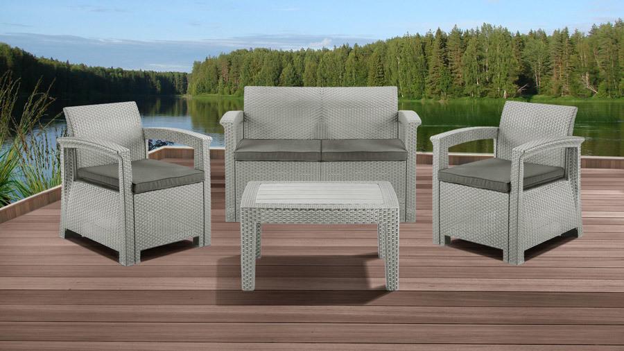 Комплекты для отдыха Комплект мебели IDEA SOFT SET (Grey) 1_soft-4s.jpg