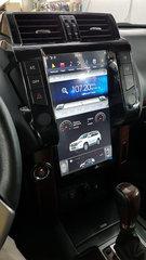 Магнитола для Toyota Prado 150 (2014-2017) стиль Tesla Android 9.0 4/64GB IPS DSP модель ZF-1801-DSP