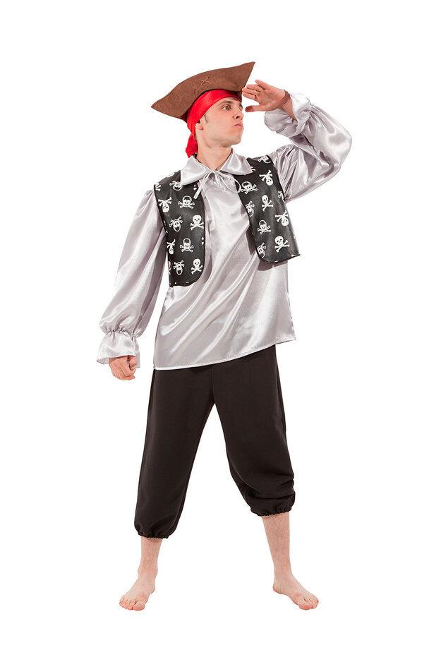 Костюм карнавальный  взрослый Пират