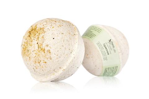 Гейзер (бурлящий шарик) для ванн Гармония, 120g ТМ ChocoLatte