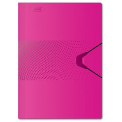Папка на на резинке Attache Digital,розовый