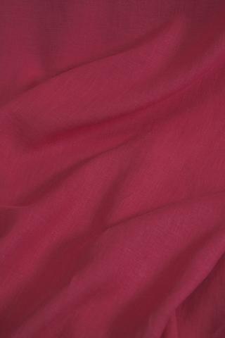 Ткань льняная, с эффектом мятости, цвет : малина