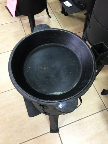 Чугунная крышка-сковорода 4,5л
