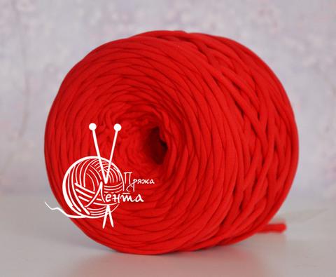 Пряжа Лента Красный