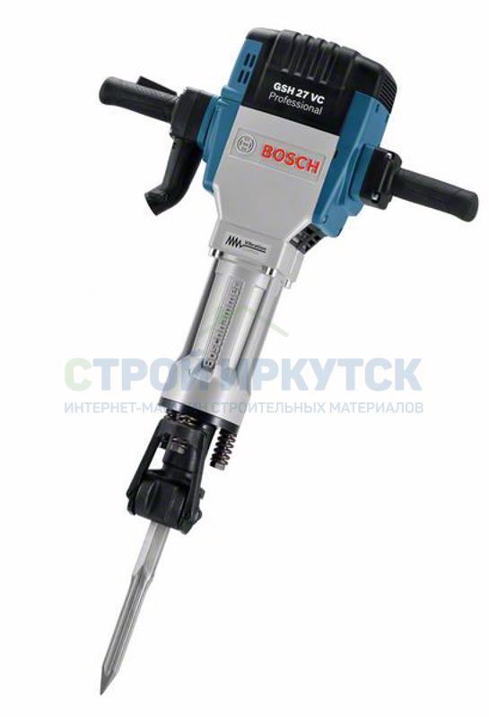 Отбойные молотки Бетонолом Bosch GSH 27 VC (061130A000) 986b219233b86be8ee4a84963b38db68