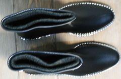 Резиновые ботинки женские утепленные Hello Rain Story 1019 Black.