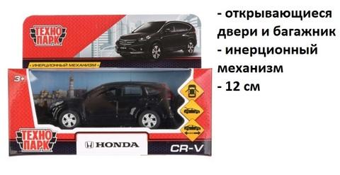 Машина мет. CR-V-ВК HONDA CR-V черный Технопарк