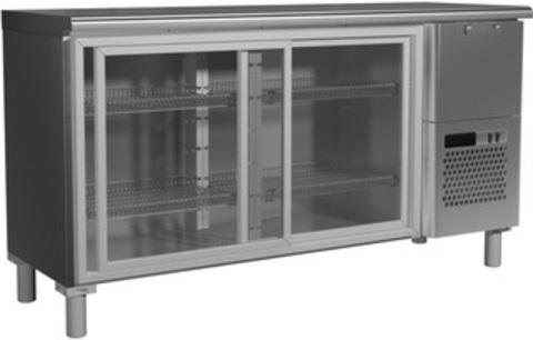 фото 1 Холодильный стол Rosso T57 M2-1-C 9006-1 корпус серый, без борта (BAR-360K) на profcook.ru