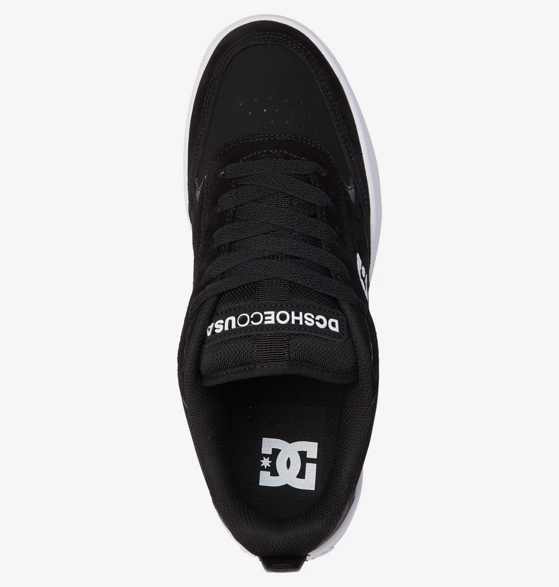 Кеды DC Shoes PENZA M SHOE BKW BLACK/WHITE