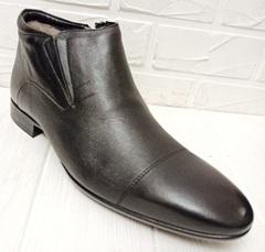 ботинки с мехом мужские