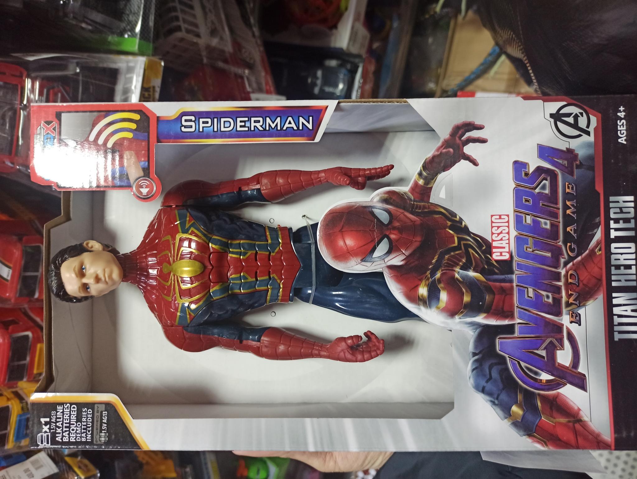 Человек паук без маски 30 см