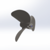 6516/3  WС Serie 3D Propeller 27cc steel