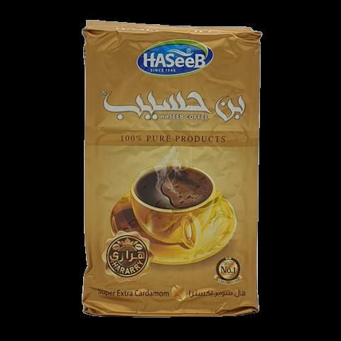 Арабский кофе с кардамоном super extra Cardamon Хасиб HASEEB, 500 гр