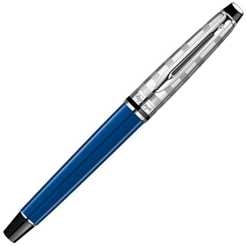 Waterman Expert - Deluxe Obsession Blue CT, перьевая ручка, F