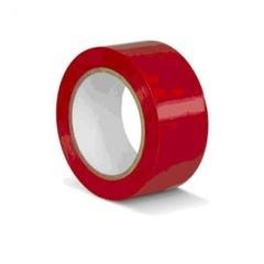 Клейкая лента для разметки ПВХ красная 50 мм x 33 м (KMSR05033)