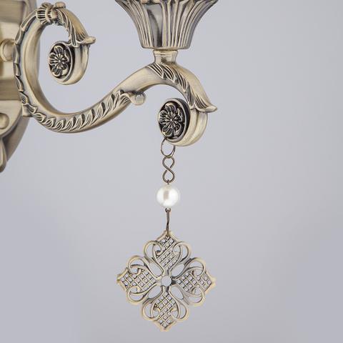 Бра с абажуром 60042/1 античная бронза