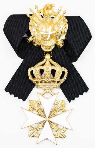 Орден св. Иоанна Иерусалимского (командорский 2), копия