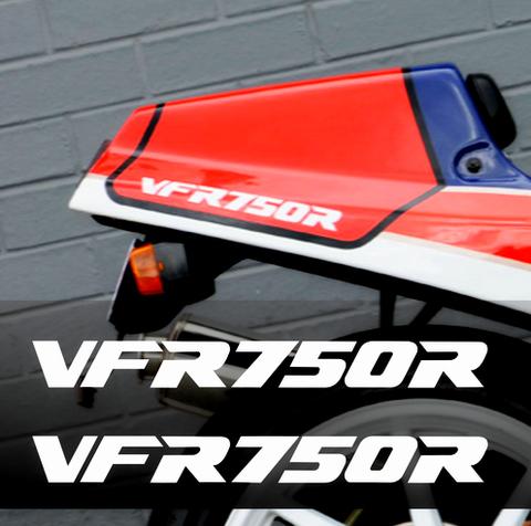 Набор виниловых наклеек на мотоцикл HONDA VFR700R (2шт)