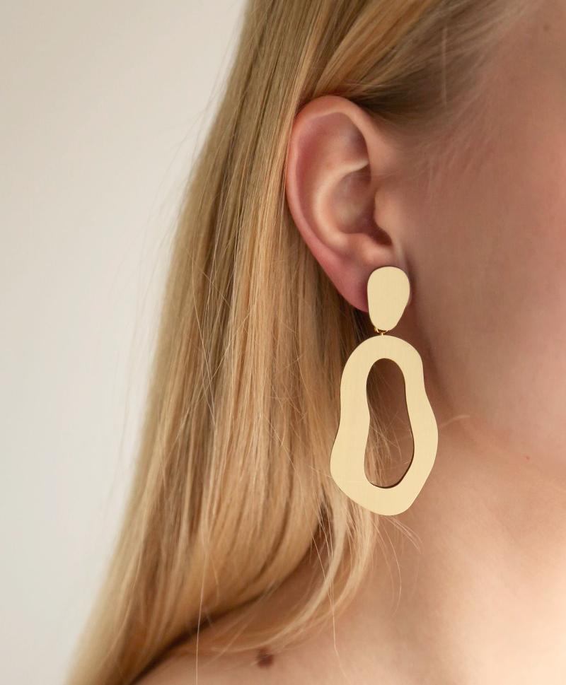 Lake-Earrings-Brushed-Brass