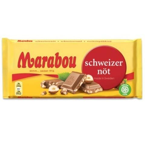 Marabou schweizer nut 200 гр