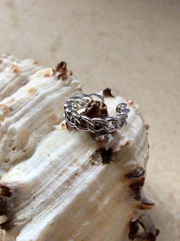 Кафф Квитанта, серебряный цвет