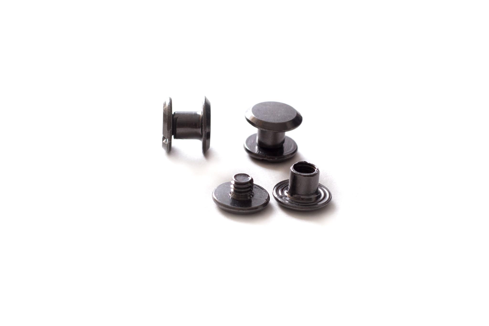 Хольнитен винтовой h-5 мм, темный никель