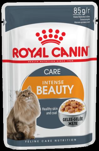 Влажный корм для кошек с чувствительной кожей и проблемной шерстью, в возрасте от 1 года до 7 лет