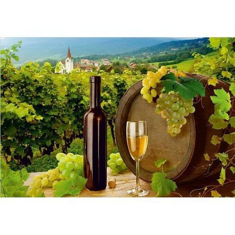 Виноградная долина 196x134 см