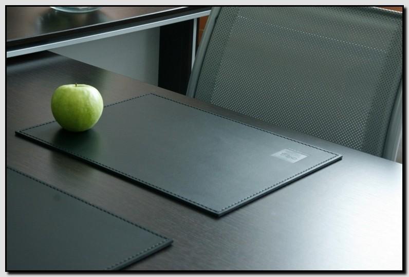 прямоугольный кожаный бювар 100*50 см
