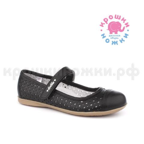 Туфли чёрные школьные 2020. Тотто (ТРК ГагаринПарк)