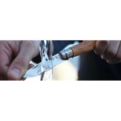 Нож Opinel №8, нержавеющая сталь, рукоять из оливкового дерева в картонной коробке