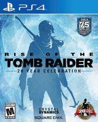 Rise of the Tomb Raider 20-летний юбилей (PS4, русская версия)