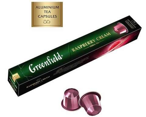 Чай в капсулах Greenfield Raspberry Cream