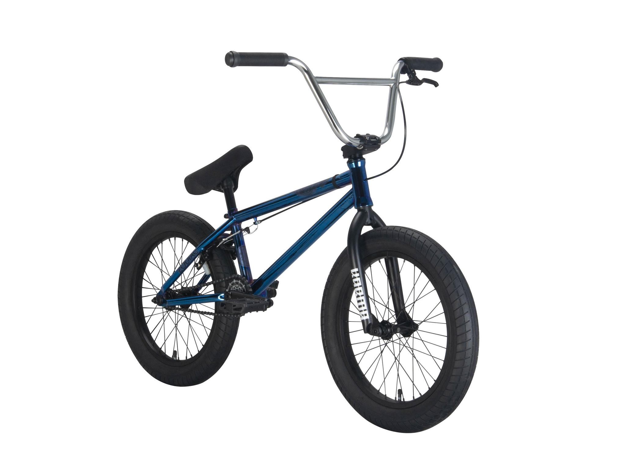 """BMX Велосипед Karma Zodiac 18"""" (синий хром)"""