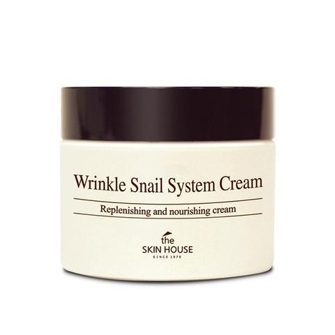Улиточный крем The Skin House Wrinkle Snail System Cream 50 мл.