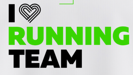 Нанесение логотипа I love running