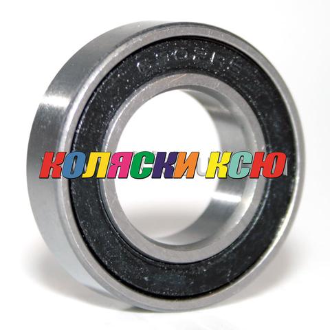 Подшипник 6902 2RS резиновый уплотнитель (вн.диаметр 15мм, наруж диам 28мм, ширина 7мм) №009019 для детской коляски