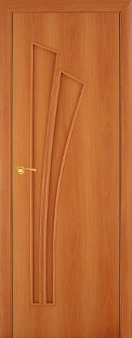 Дверь Фрегат ПГ-011 Пальма, цвет миланский орех, глухая