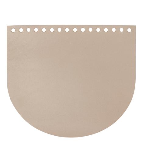 """Клапан для сумочки кожаный """"Мускат"""" 19 см на 16 см"""