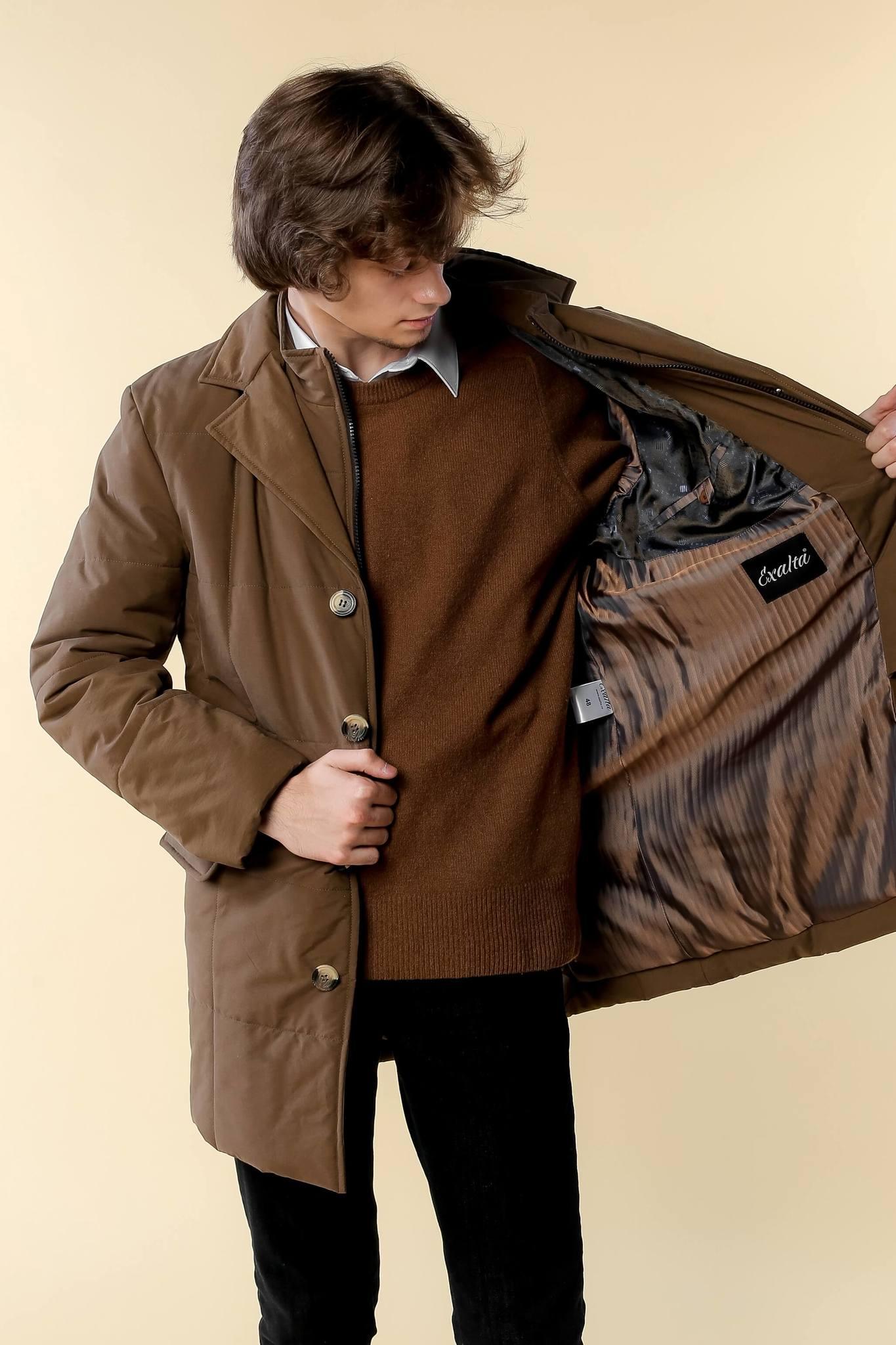 Стеганая куртка-пальто