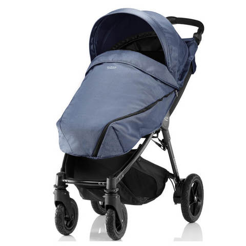 Прогулочная коляска Britax B-Motion 4 Plus Blue Denim