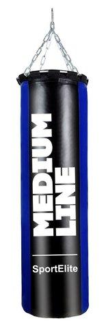 Мешок боксерский SportElite MEDIUM LINE  70см, d-30, 25кг, сине-черный (37651)