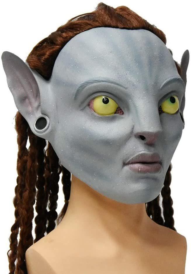 Аватар маска латексная Нейтири