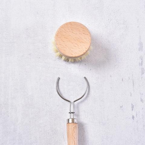 Щётка натуральная для посуды