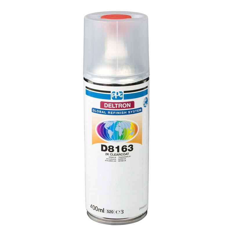 Лаки Лак Deltron 2-хкомпонентный аэрозоль (PPG Deltron Clear Coat 2K), 400 мл 8163.jpg