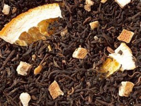 Черный чай Пу Ер Лайм