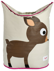 Корзина для белья 3 Sprouts Олененок (Brown Deer) 71853